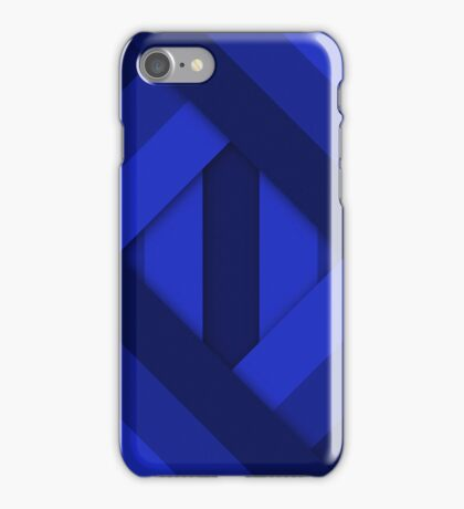 Ribbons [Blue] iPhone Case/Skin