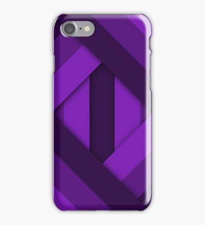 Ribbons [Purple] iPhone Case/Skin