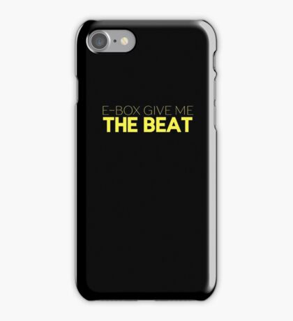 E-Box Give Me The Beat — Skam iPhone Case/Skin