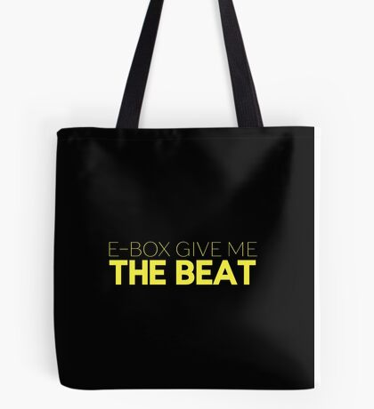 E-Box Give Me The Beat — Skam Tote Bag