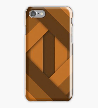 Ribbons [Orange] iPhone Case/Skin