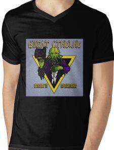 Nightmare of Cthulhu Mens V-Neck T-Shirt