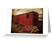 Memory Train Greeting Card