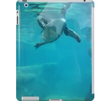 Penguin Underwater iPad Case/Skin