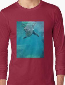 Penguin Underwater Long Sleeve T-Shirt