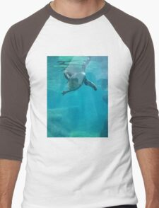 Penguin Underwater Men's Baseball ¾ T-Shirt