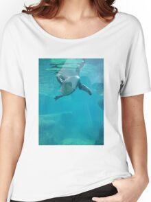 Penguin Underwater Women's Relaxed Fit T-Shirt