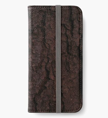 Pine Bark iPhone Wallet/Case/Skin