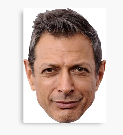 Yet Another Face by Goldblum Canvas Print