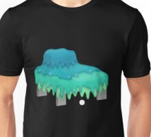 Glitch furniture armchair slimy in blue armchair Unisex T-Shirt