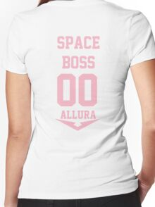 Voltron - Space Boss Women's Fitted V-Neck T-Shirt
