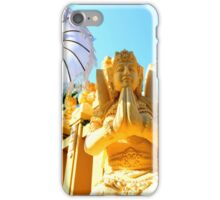 Balinese deity iPhone Case/Skin