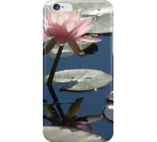 Pink Water Lily (2) iPhone Case/Skin