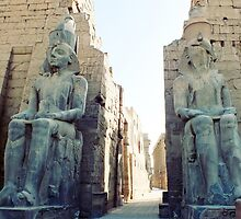 Luxor Temple, Egypt by Ludwig Wagner