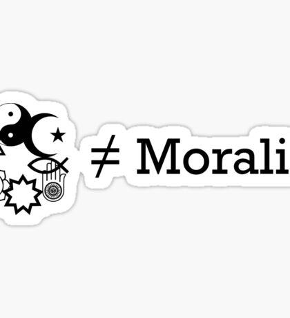 Religion & Morality Sticker