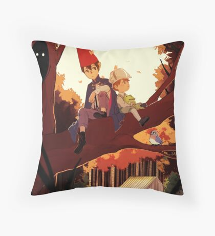 Over The Garden Wall Throw Pillow