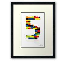 5 Framed Print