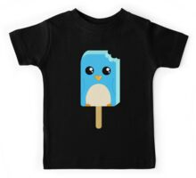 Cute Penguin Popsicle  Kids Tee