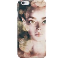 Fairy portrait with bokeh iPhone Case/Skin