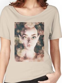 Fairy portrait with bokeh Women's Relaxed Fit T-Shirt