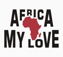 Africa, my love Kids Tee
