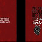 Take Your Broken Heart, Make It Into Art - Carrie Fisher Memorial Journal by carriediaries