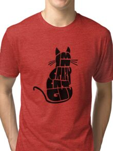 Crazy Cat Guy Tri-blend T-Shirt