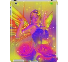 Fairy with Roses iPad Case/Skin
