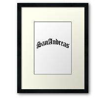 GTA - SanAndreas Framed Print