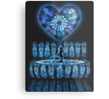 Crystal Heart, Crystal Memories Metal Print