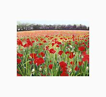 Poppies - Poppy Fields Painting used for Remembrance Day Song  Unisex T-Shirt
