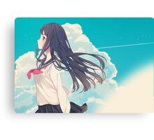 anime girl  Canvas Print