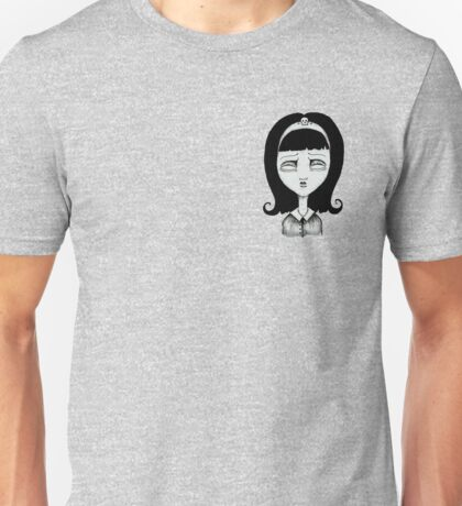 Ghost of Emiko Goth Girl Sticker Unisex T-Shirt