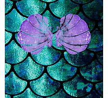 Mermaid Scales & Shell Bra by Cassie Hannum