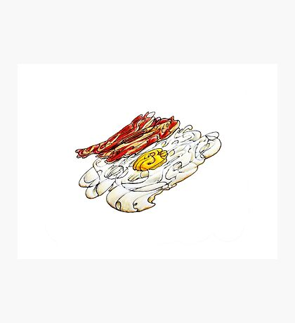 Eggs n Bacon Photographic Print