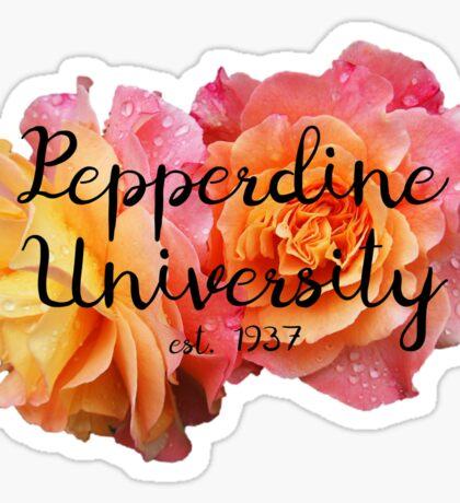 Pepperdine University Rose Malibu Sticker