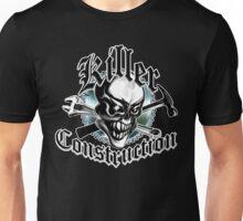 Construction Skull 5.2: Killer Construction Unisex T-Shirt