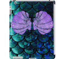 Mermaid Scales & Shell Bra iPad Case/Skin