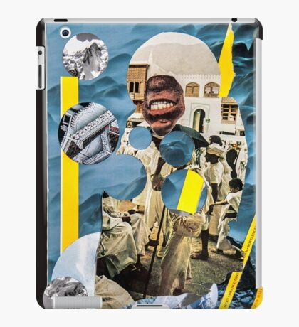 I knifed my way through the diamond mine iPad Case/Skin