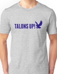 Talons Up! in blue Unisex T-Shirt