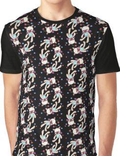 FFXV Moogle Print Graphic T-Shirt