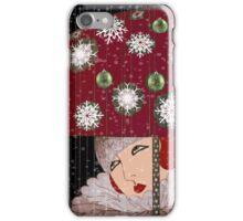 Art Deco Umbrella Girl iPhone Case/Skin