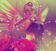 Fairy with Roses 3 by AnnArtshock