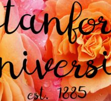 Stanford University Rose Sticker