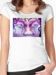 Fantasy style Women's Fitted Scoop T-Shirt