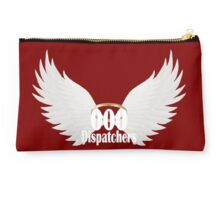 000 Dispatchers Wings - White writing Studio Pouch