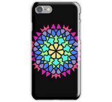 Colorful Mandala Flame Flower iPhone Case/Skin