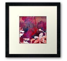 Poppy Pink Love Framed Print