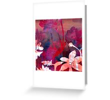 Poppy Pink Love Greeting Card