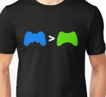 PlayStation Greater Than Xbox Unisex T-Shirt